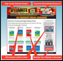 Dynamite Digital Software Store